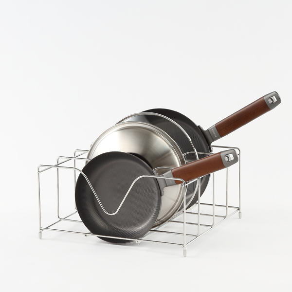 arrots フライパン&鍋蓋スタンド ワイド
