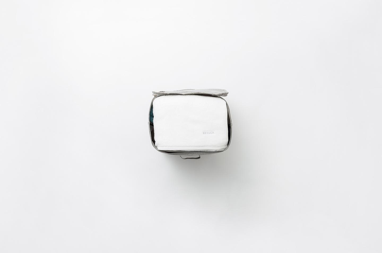 Popyre たためる フタ式BOXII グレー L