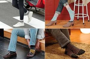 ヘビロテ靴下Part2 足型フィットシリーズ