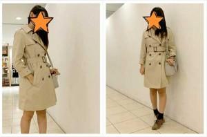 ケユカでコートを。