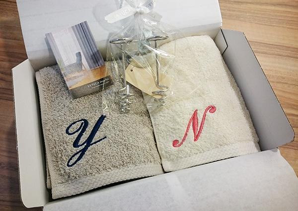○ネーム刺繍のギフト○