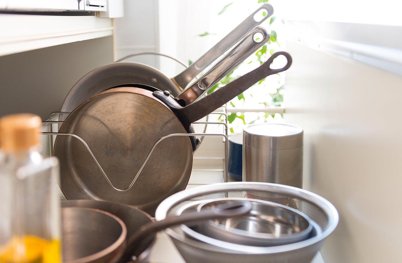 使ってみて便利さを実感。 ケユカのキッチン収納。