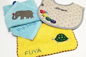 動物シリーズのタオルは保育園・幼稚園にぴったりです♪