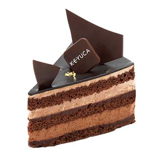 チョコ生ショートケーキ