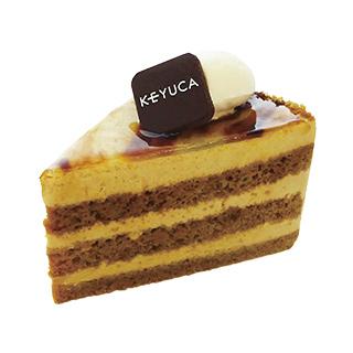 カフェオレのケーキ