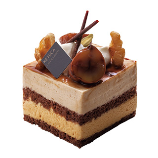 キャラメルマロンのケーキ