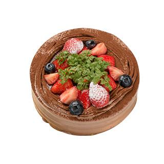 ショコラデコレーションケーキ