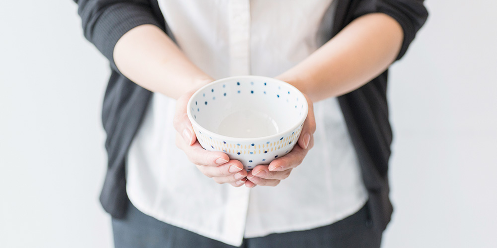 雲母カンナ 軽量 茶碗