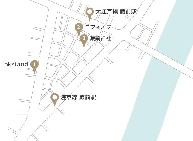 蔵前〜浅草橋マップ