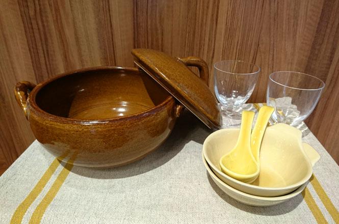 ケユカの土鍋であたたまる