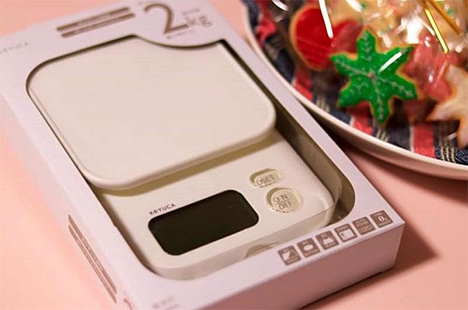ケユカのデジタルスケールでお菓子作り