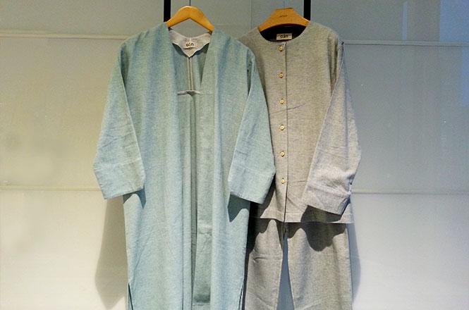 起毛素材のパジャマ・ローブが入荷しました!