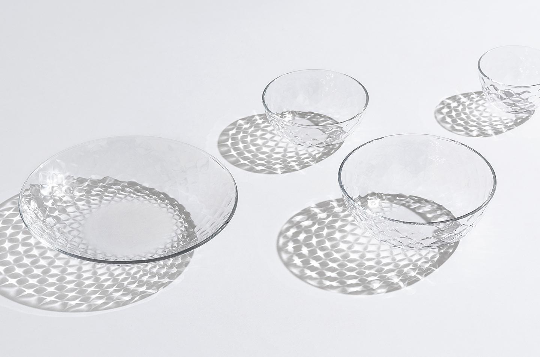 ガラスで涼をいただく夏の食卓(おかず料理編)