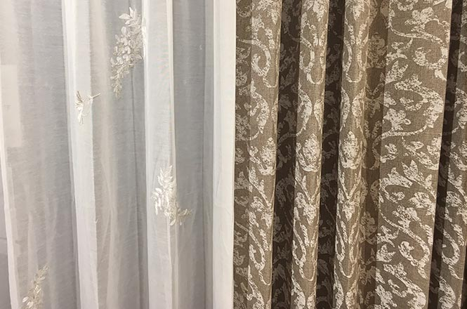 ケユカ オリジナルカーテン