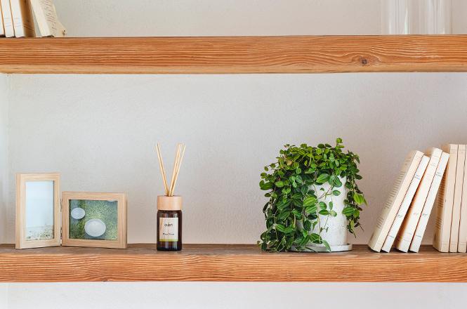 オアン ディフューザー Moss Grass・Narain フォトフレームL版×2個 タテヨコ ナチュラル色