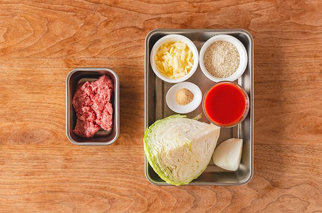 「ロールキャベツのオーブン焼き」レシピ