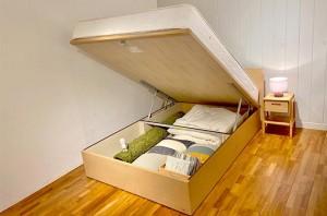 【新宿店】収納ベッドでお部屋をすっきりと♪