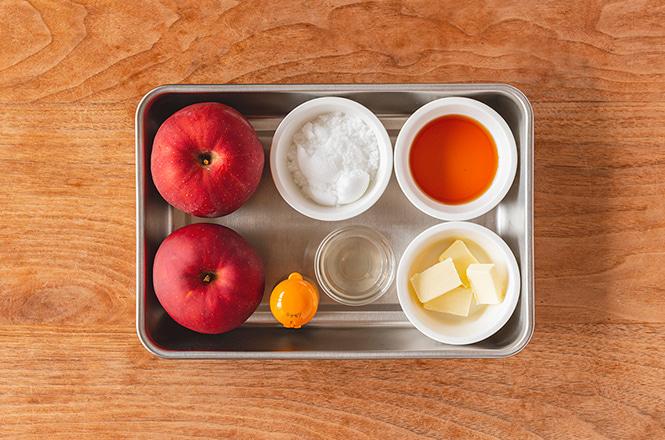「焼きりんご」レシピ