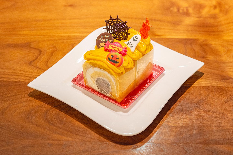 「ケーキをデコレーションしてハロウィンケーキを作ろう」
