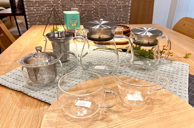 【新宿店】ほっこり身体が温まる、耐熱ガラスシリーズ