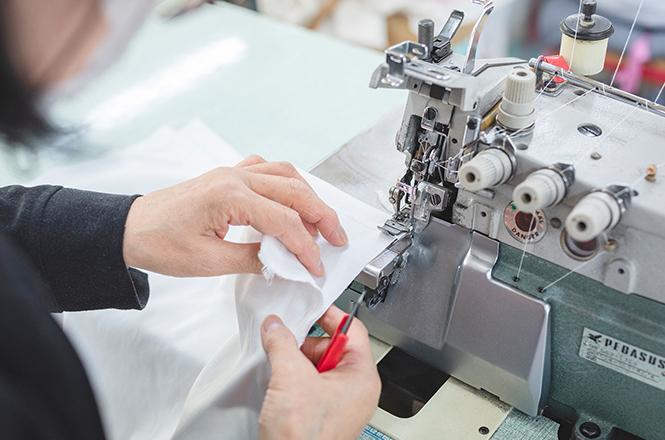 島根県出雲市にある実績十分の縫製工場