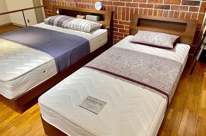 【新宿店】バリエーション豊富なベッドフレーム