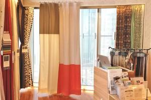 【青山店】おすすめの2色切り替えカーテン