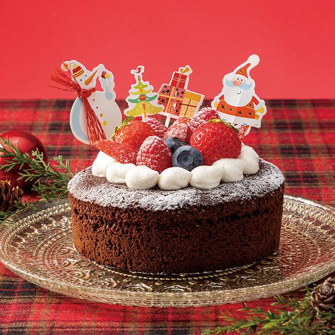 おうちで手作りクリスマスケーキ