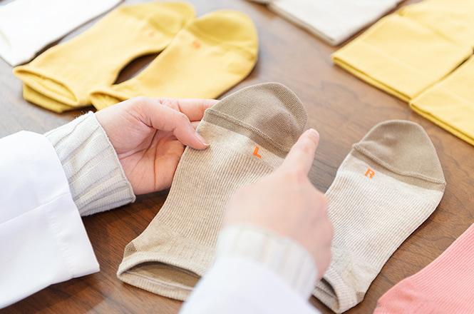 Q 今回「疲れにくい」をテーマにして靴下を開発した理由は何ですか?